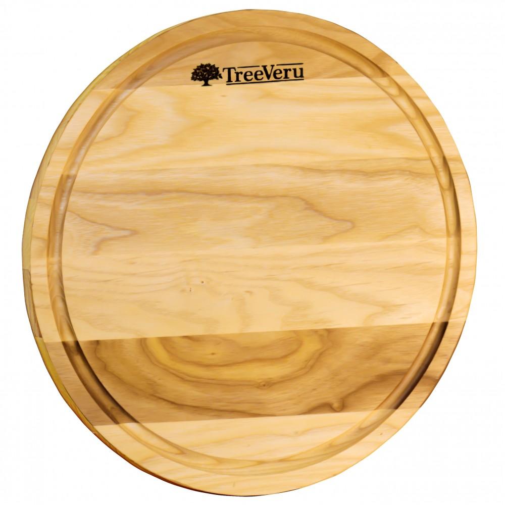 Доска деревянная разделочная TreeVeru круглая Ø30 см  (ясень)
