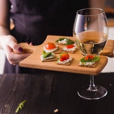 Деревянная посуда для подачи блюд