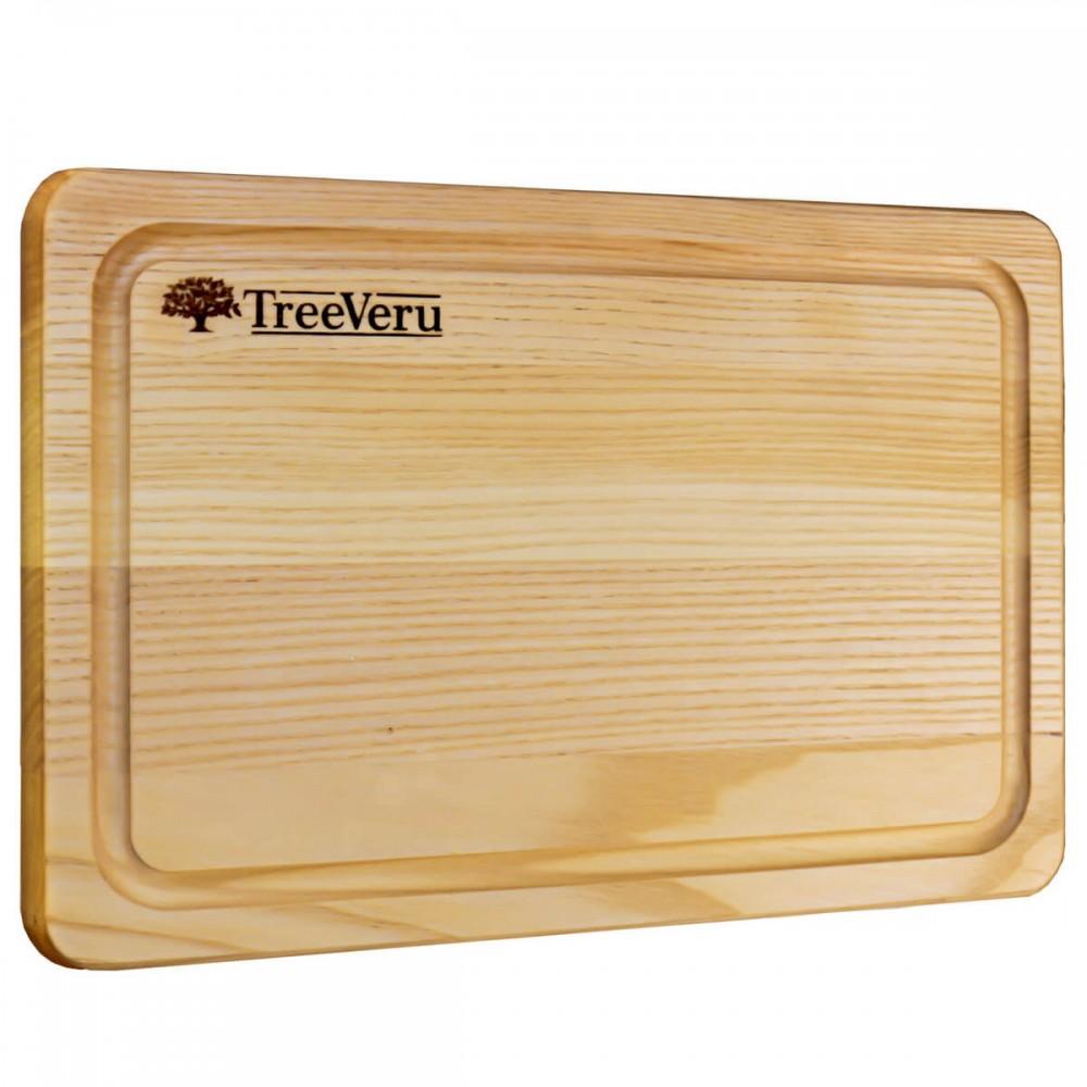 Доска деревянная разделочная TreeVeru прямоугольная 30х20х2 см (ясень)