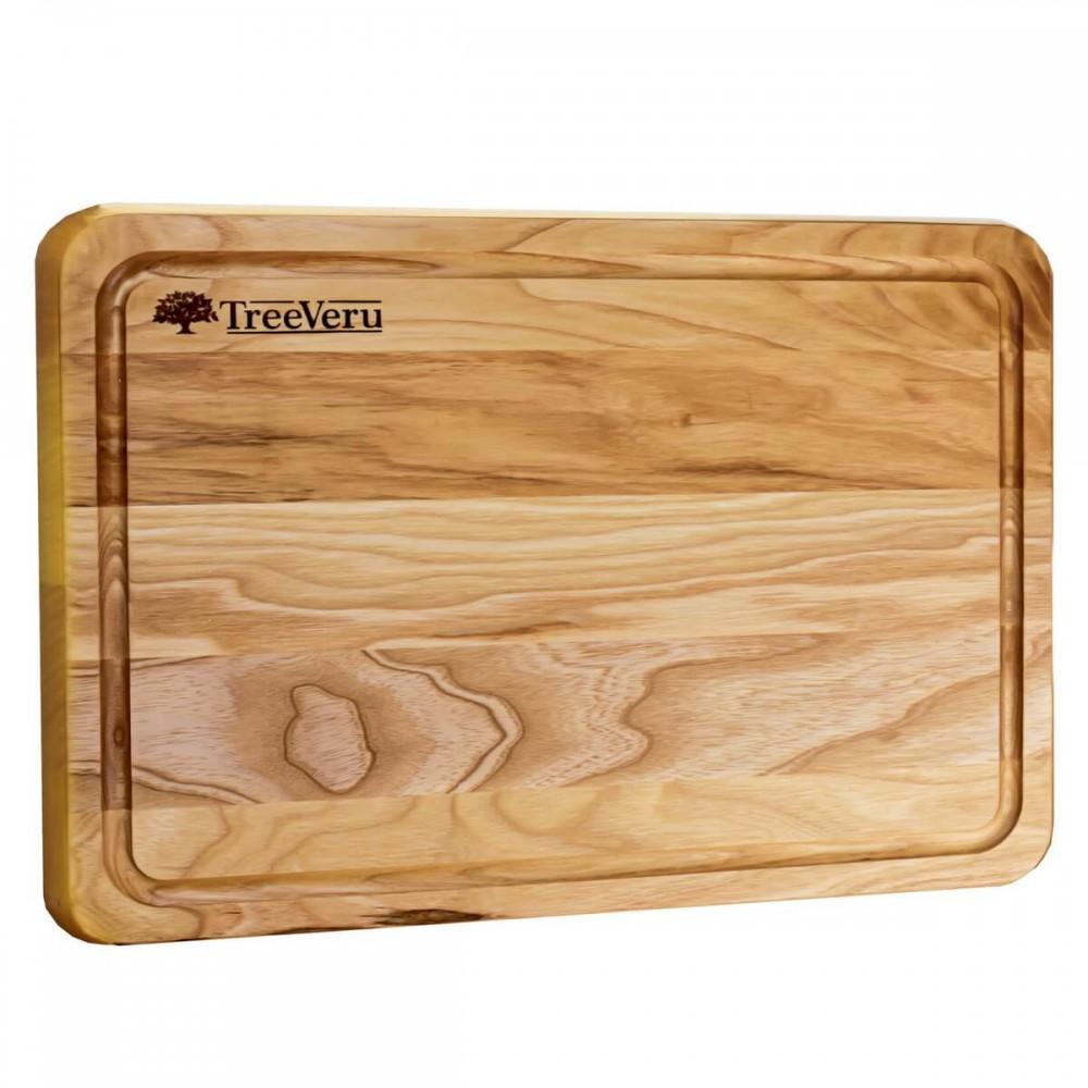 Доска деревянная разделочная TreeVeru прямоугольная 35х25х2 см (ясень)