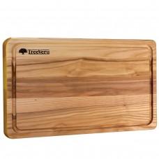 Доска деревянная разделочная TreeVeru прямоугольная 40х25х2 см (ясень)