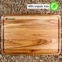 Доска деревянная разделочная TreeVeru прямоугольная 45х30х2 см (ясень)