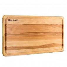 Доска деревянная разделочная TreeVeru прямоугольная 50х30х2 см (ясень)