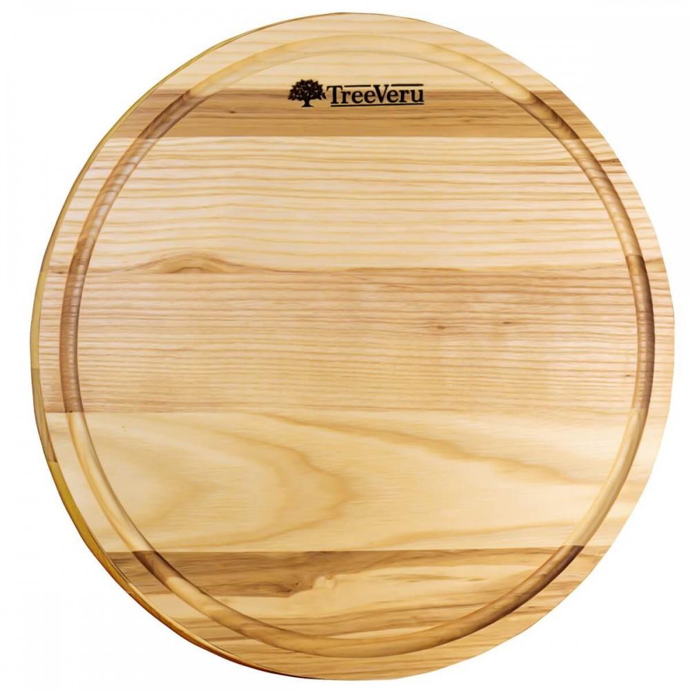 Доска деревянная разделочная TreeVeru круглая Ø35 см (ясень)
