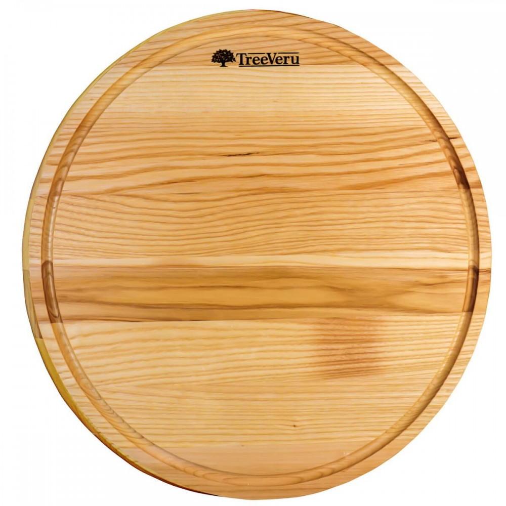 Доска деревянная разделочная TreeVeru круглая Ø40 см (ясень)