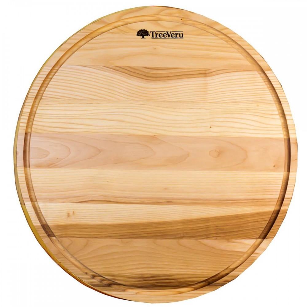 Доска деревянная разделочная TreeVeru круглая Ø45 см (ясень)