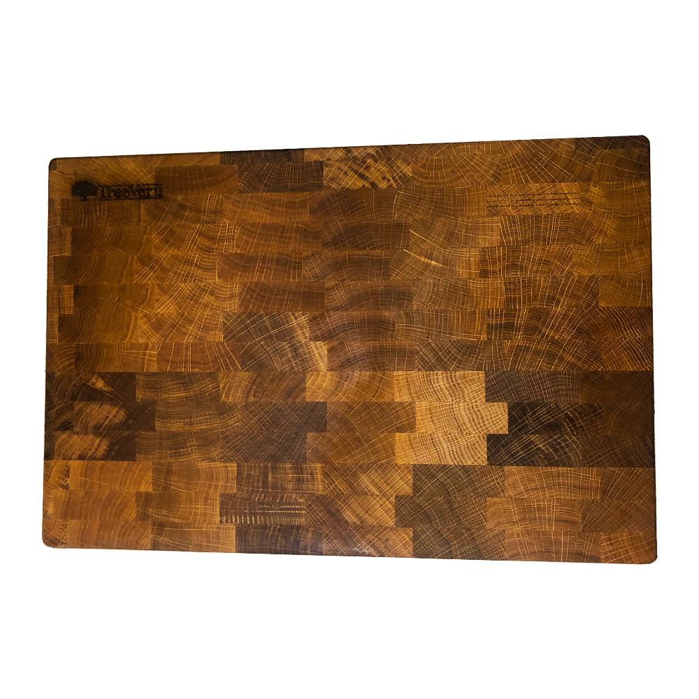 Торцевая разделочная доска TreeVeru 30x45x4 см
