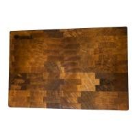 Доска деревянная разделочная TreeVeru торцевая  30x45x4 см   (ясень)