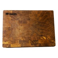 Доска деревянная разделочная TreeVeru  торцевая  35x25x4 см  (ясень)