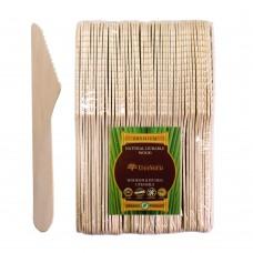 Нож деревянный одноразовый Treeveru 160 мм ЗИП 100