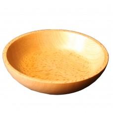 Тарелка деревянная дерев для салата TreeVeru D20см глубина 4 см бук